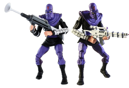 "NECA TMNT '87 Foot Soldier ""Army Builder"" 2-Pack (Teenage Mutant Ninja Turtles)"
